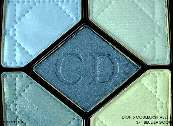 Dior 5 Couleurs Palette in 374 Blue Lagoon Close