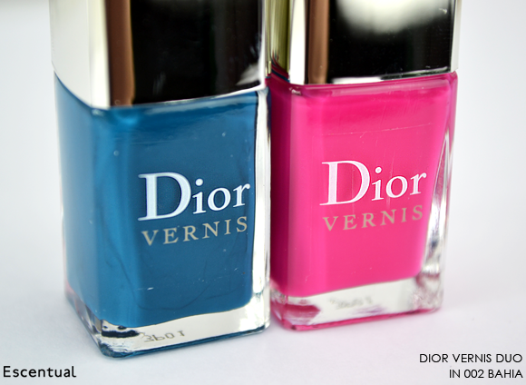 Dior Vernis Duo 002 Bahia Bottles