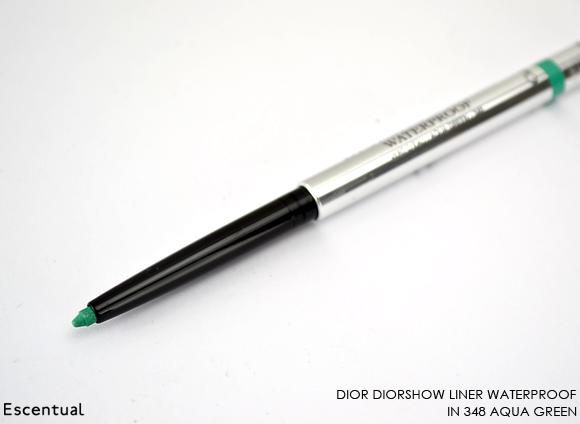 Diorshow Liner Waterproof in 348 Aqua Green