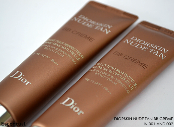 Diorskin Nude Tan BB Creme in 001 and 002 copy