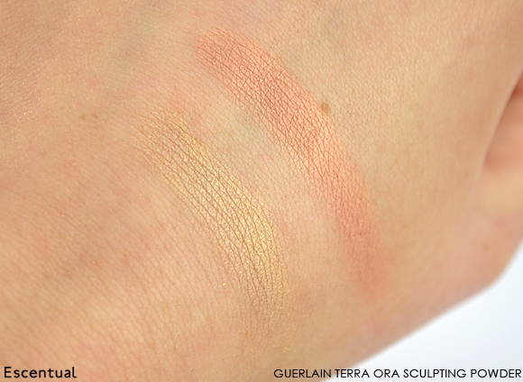 Guerlain Terra Ora Sculpting Powder Swatches