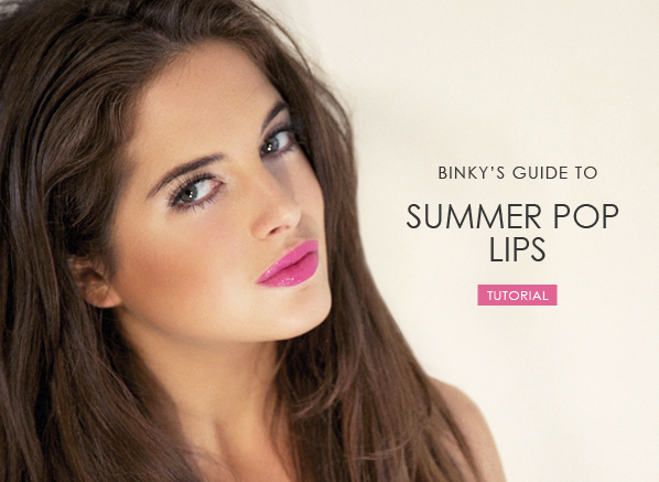 Summer Pop Lip Tutorial