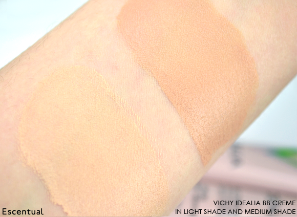 Vichy Idealia BB Creme Swatch