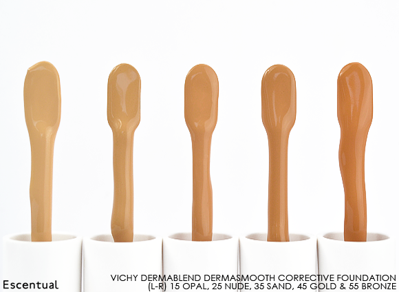 Vichy Dermablend Corrective Foundation Swatch Sticks
