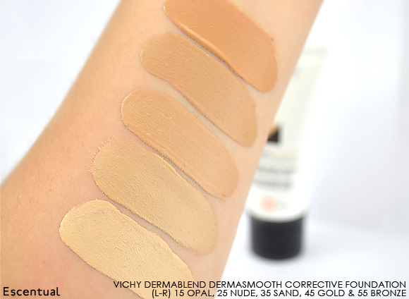 Vichy Dermablend Corrective Foundation Swatch