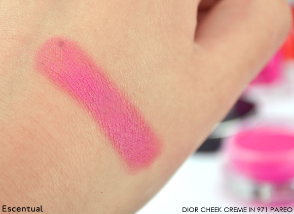 Dior Summer Mix Cheek Creme in Pareo Swatched