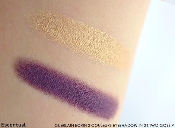 Guerlain Ecrin 2 Couleurs Eyeshadow in 04 Two Gossip Swatch