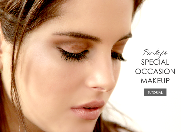 Binky Special Occasion Makeup Banner