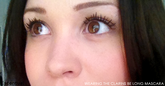 Clarins Be Long Mascara Worn