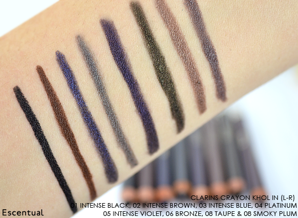 Clarins Crayon Kohl SWATCH