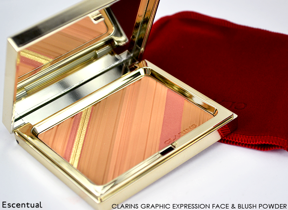 Clarins Graphic Expression Face & Blush Powder