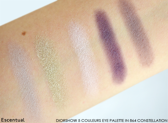 Diorshow 5 Couleurs Eye Palette in 864 Constellation Swatch