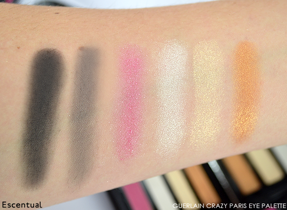 Guerlain Crzy Paris Eye Palette SWATCHES