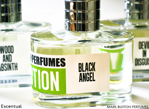 Mark Buxton Wood and Absinth Black Angel Devil in Disguise