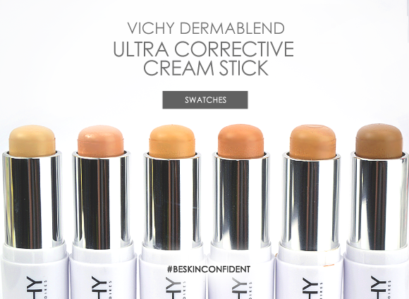 Vichy Dermablend Ultra Corrective Cream Stick Banner