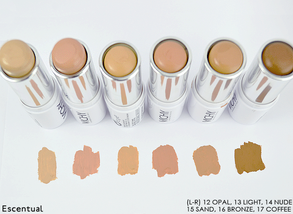 Vichy Dermablend Ultra Corrective Cream Stick Swatched 2