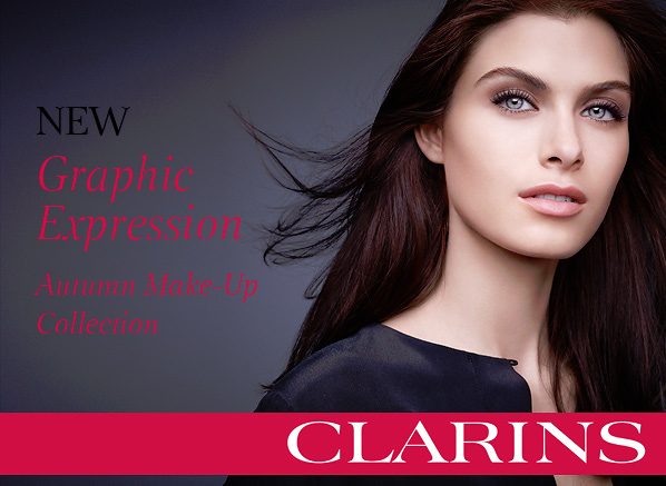 Clarins Graphic Expression Autumn Look