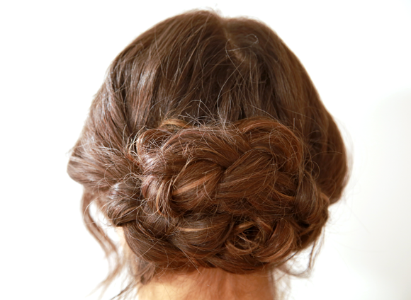 Get The Look Dare to Bare Up-Do