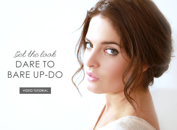 Dare to Bare Up-Do
