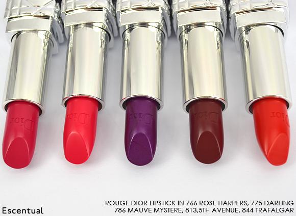 Rouge Dior Lipstick 766 775 786 813 844