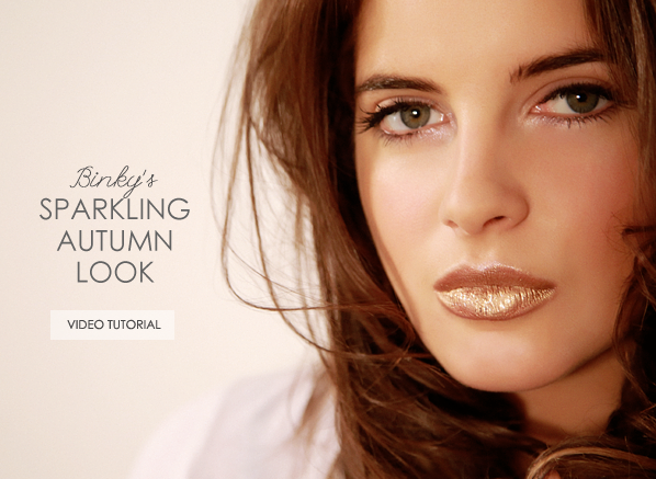 Binky Sparkling Autumn Look Video Tutorial Banner