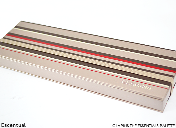 Clarins The Essentials Eye Make-Up Palette Closed