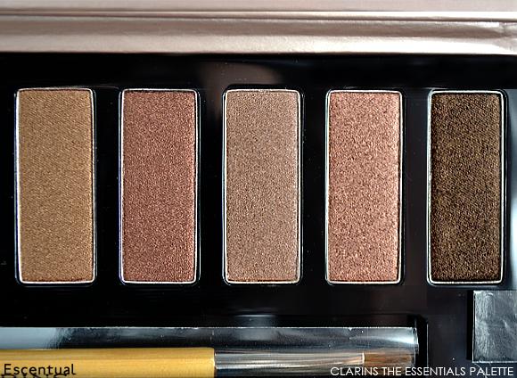 Clarins The Essentials Eye Make-Up Palette Dark Shades