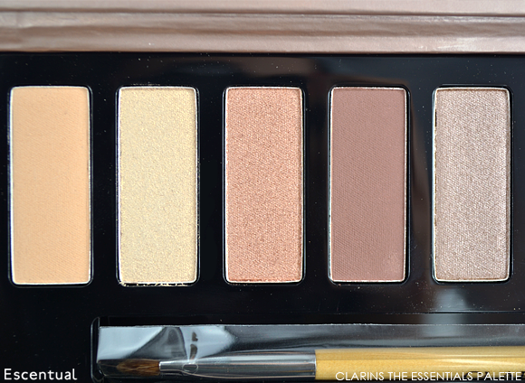 Clarins The Essentials Eye Make-Up Palette Light Shades