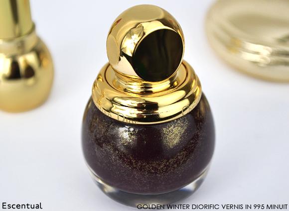 Dior Golden Winter Diorific Vernis in 995 Minuit