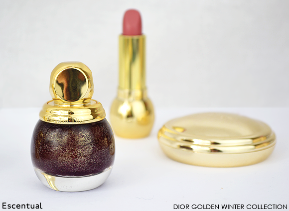 Dior Golden Winter Makeup Collection
