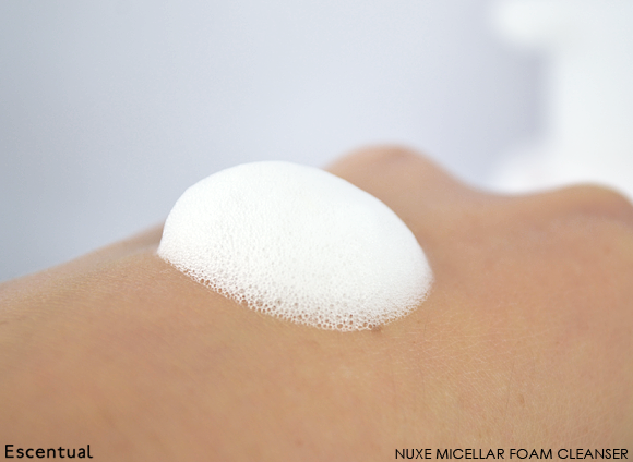 Nuxe Micellar Foam Cleanser SWATCH