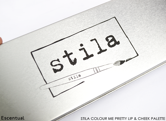 Stila Colour Me Pretty Lip & Cheek Palette Closed