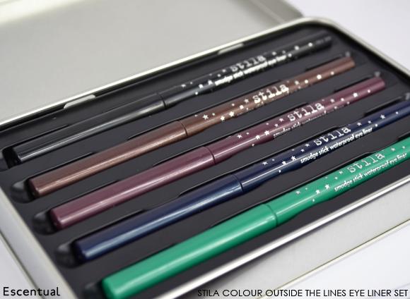 Stila Colour Outside the Lines Smudge Stick Waterproof Eye Liner Set 2