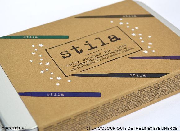 Stila Colour Outside the Lines Smudge Stick Waterproof Eye Liner Set