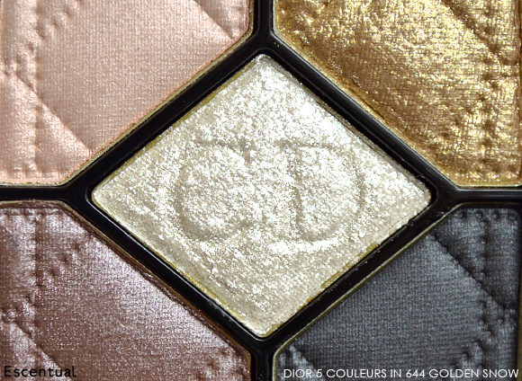 Dior 5 Couleurs Eyeshadow in 644 Golden Snow