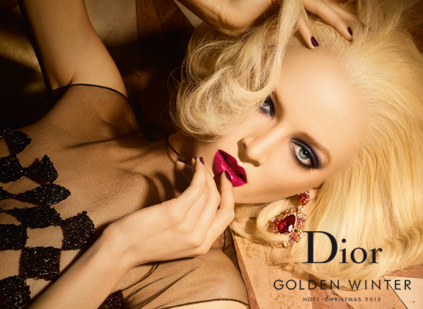 Dior Christmas Look Banner
