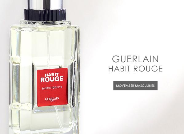 Guerlain Habit Rouge Movember Masculines