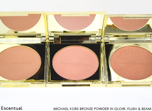 Michael Kors Bronzer Powder in Glow Flush Beam Palettes