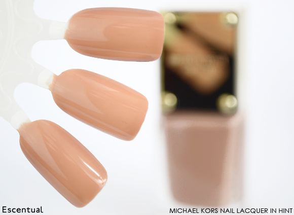 Michael Kors Nail Lacquer in Hint