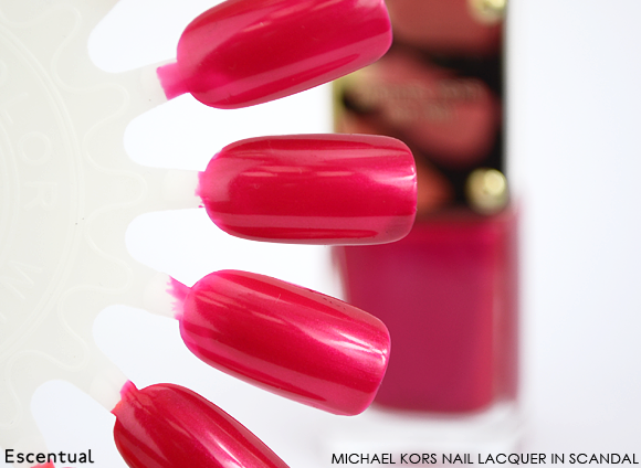 Michael Kors Nail Lacquer in Scandal