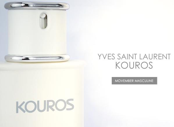 Yves Saint Laurent Kouros Banner