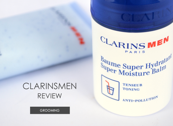 Clarins Men Review Banner