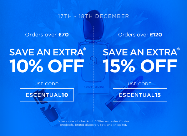 Up to 15% off - 2 days only!