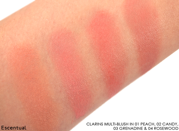 Clarins Multi-Blush in 01 Peach - 02 Candy - 0