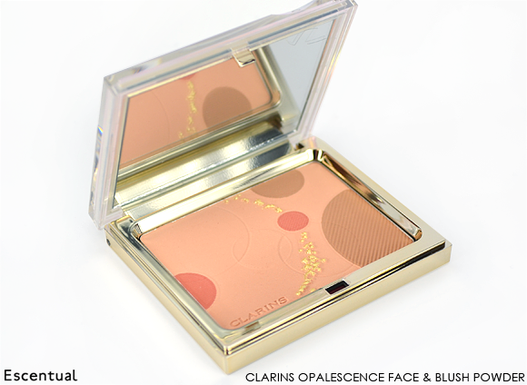 Clarins Opalescence Face & Blush Powder Open
