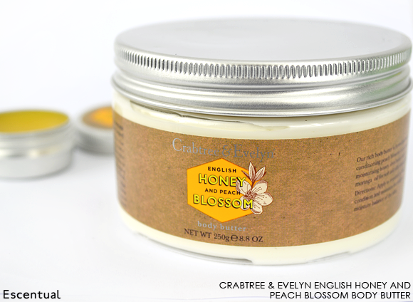 Crabtree & Evelyn English Honey and Peach Blossom Body Butter