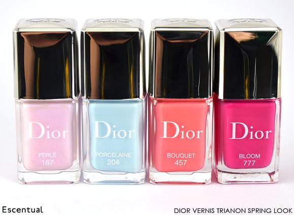 Dior Vernis in 187 Perle 204  Porcelain 457 Bouquet 777 Bloom