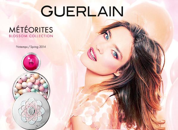 Guerlain Meteorites Blossom Look