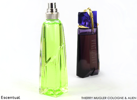 Thierry Mugler Cologne and Alien