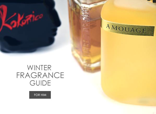 Winter Fragrance Guide for Him